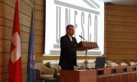 Mgr Jean Scarcella   © photo DR : J.Liniger - studio-irresistible.com pour la délégation suisse auprès de l'UNESCO
